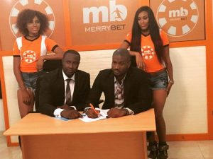 Peter Okoye Of P Square Bubbles With MerryBet Endorsement Deal