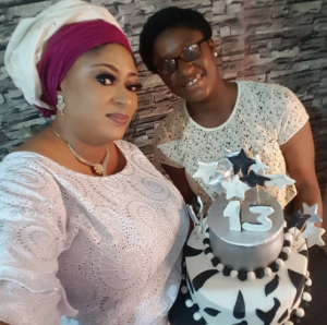 Ronke Oshodi-Oke Celebrates Her Daughter's 13th Birthday