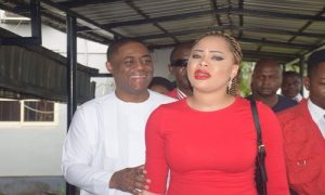 Fani-Kayode's Wife Releases Screenshot Of Bank Statements, Says EFCC Lied