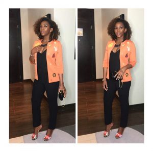 Genevieve Nnaji: Actress Steps Out Looking Fab Last Night