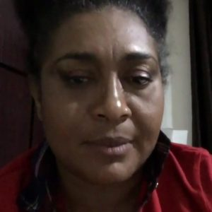 Nollywood Actress, Hilda Dokubo Breaks Down Over Buhari's 'Kitchen Comment'