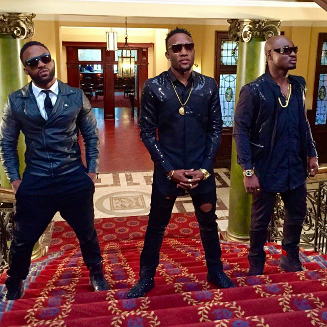 Iyanya, KCee and Harrysong
