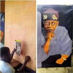 See The Tragedy That Struck Man Tasked With The Painting Of Bola Tinubu