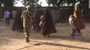 Exclusive Pictures Of The 21 Chibok Girls As They Escaped