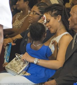 Rihanna All Smiles As She Reunites With Family In Barbados; Shades Her Exes