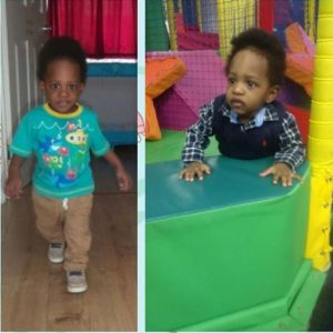 Maje Ayida's Babymama, Anita Solomon Shares Lovely Photos Of Their Son
