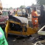 Photos From The Unsuccessful NNPC Depot Suicide Bombers' Attack In Maiduguri
