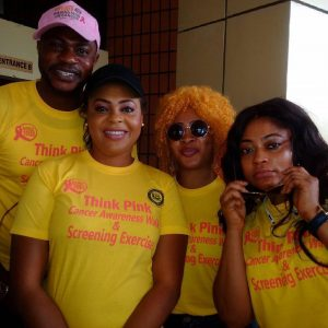 Odunlade Adekola, Iyabo Ojo, Doris Simeon, Other Celebrities Join In Cancer Awareness Walk