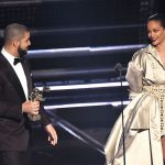 Drake and Rihanna at the VMAs