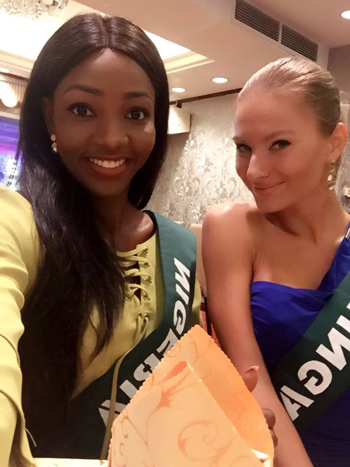 Winner Miss Earth Nigeria, Chioma Obiadi Arrives Philippines For Miss Earth World Pageant