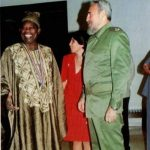 #ThrowBack: MKO Abiola Pictured With Fidel Castro