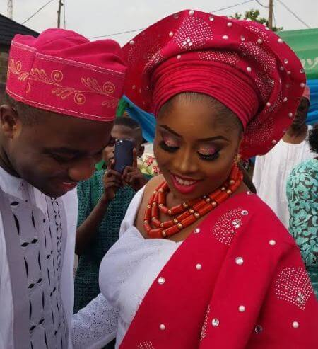 Lovely Photos From Benita Okojie's Traditional Wedding