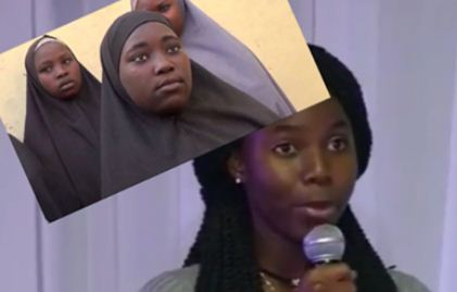 VIDEO: Escaped Chibok Girl Living Good, Speaks American English Fluently