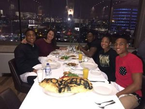 See Daniel Amokachi As He Dines With Lovely Wife, Sons And Pretty Daughter