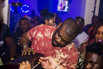 Don Jazzy Gets Surprise Birthday Party At Escape Lounge [PHOTOS]