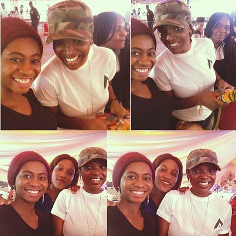 Annie Idibia and Sumbo