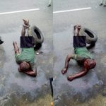 This Young Man Was Beaten To Pulp For Breaking Into A Boutique In Delta