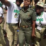 Aww! Check Out This Cute Female Soldier; She's A Sensation In Lagos NYSC Orientation Camp