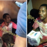 Toyin Aimakhu's Ex-Lover, Seun Egbegbe Caught With 9 Stolen iPhones
