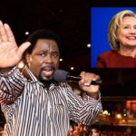 TB Joshua Deletes Post Where He Prophesied Clinton Would Win