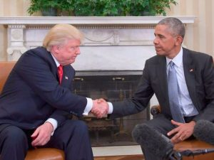 We'll Help You Succeed – Obama Assures Trump