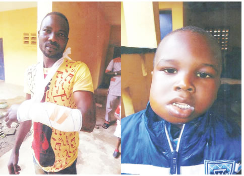 NSCDC Cover Up Officers Who Allegedly Shot Man And Injured His 3-year-old Son