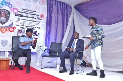 Korede Bello: Singer Begins Ambassadorial Duties With Police And The Media Forum