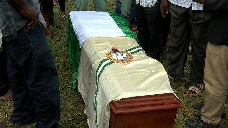 Photos From Burial Of Female Corper, Ifedolapo Oladepo Who Died @ NYSC Orientation Camp