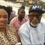 Akeredolu Spotted Enjoying Boat Ride With A Beautiful Lady