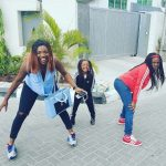 Annie Idibia And Daughters Goofing Around In New Photo