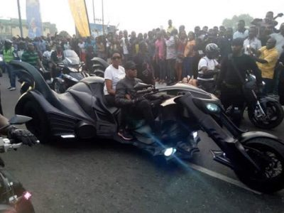 <p>Bikers Arrive In Style For The 2016 Bikers Carnival In Calabar</p>