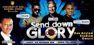 Don Moen, Frank Edwards, Others Storm Owerri This Friday 9th Dec
