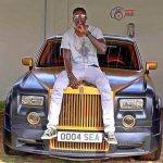 Footballer, Emmanuel Adebayor Shows Off His New Massive Rolls Royce