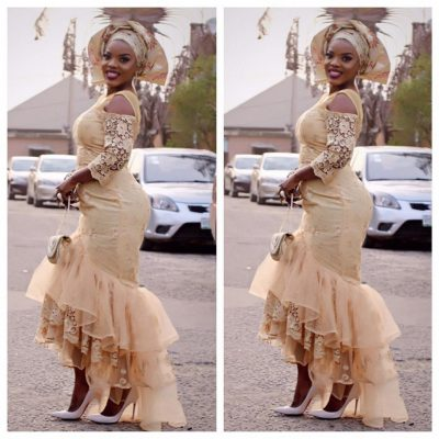 Empress Njamah: Actress Killing It In Her Owambe Outfit [PHOTOS]
