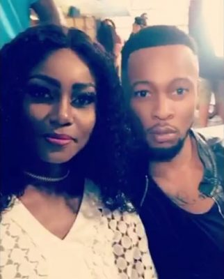 Please Run For Your Life ~ Fans React To Yvonne Nelson Hanging With Flavour