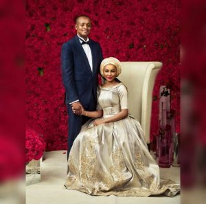 Lovely Photos From Zahra Buhari And Ahmed Indimi's Wedding Ball