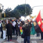 Biafra Supporters Protest In Spain Over Nnamdi Kanu's Detention [PHOTOS]