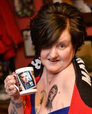 Woman Puts Tattoo Of Jose Mourinho On Her Brea$t