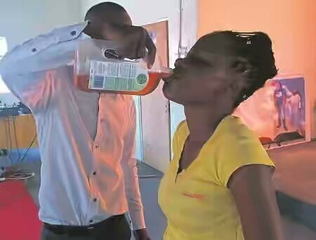 South African Pastor Makes Members Drink Dettol For Healing
