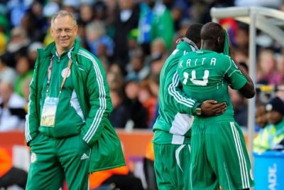 Gernot Rohr: Super Eagles' Coach Wants Jersey Colours Changed