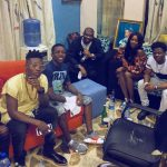 Photos Of Reekado Banks And His New Girlfriend Loved Up [PEEP]