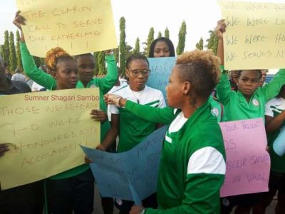 We Are Underpaid ~ Super Falcons Players Set To Protest Again