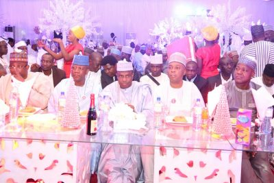 PHOTOS: SarakI, Dogara, Others At Gov. Tambuwal's Daughter Dinner Party