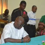 <p>Fayose Kneels As Pastor Adeboye Prays For Him [PHOTOS]</p>