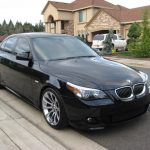 Drama As Stolen BMW 550I Car Remotely Locks Suspect Inside Vehicle