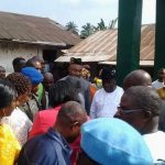 <p>Shocker As Akwa Ibom Deputy Governor Commissions Borehole <strong>(PICS)</strong> </p>