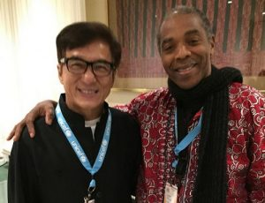 Femi Kuti: Afrobeat Singer Meets Jackie Chan For The First Time