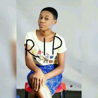 SO SAD! See The Pretty Teenage Girl Killed By Assassin's Stray Bullet In Rivers State
