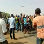 LAUTECH Strike: Police Teargas, Shoot & Chase Protesting Students