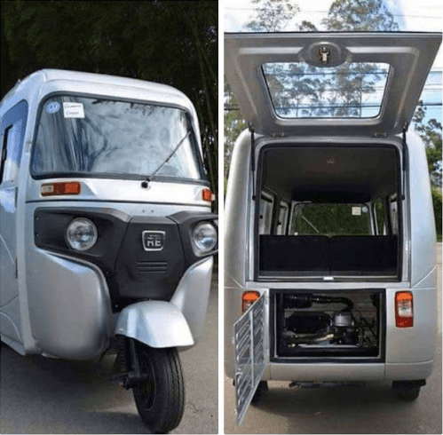 Fully Air-Conditioned Tricycle Hits The Streets Of Nigeria